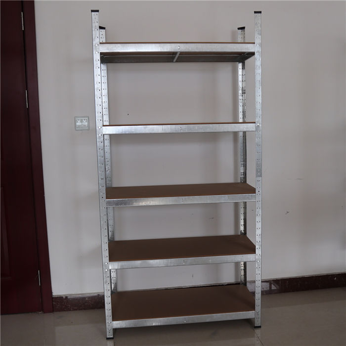 boltless metal shelf