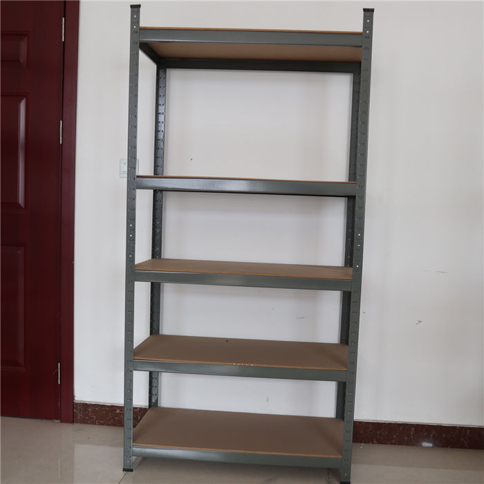 gray color shelf